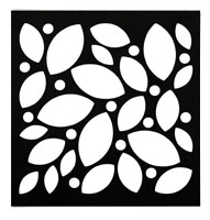 Curb	Allure tree guard decorative floating leaves panel
